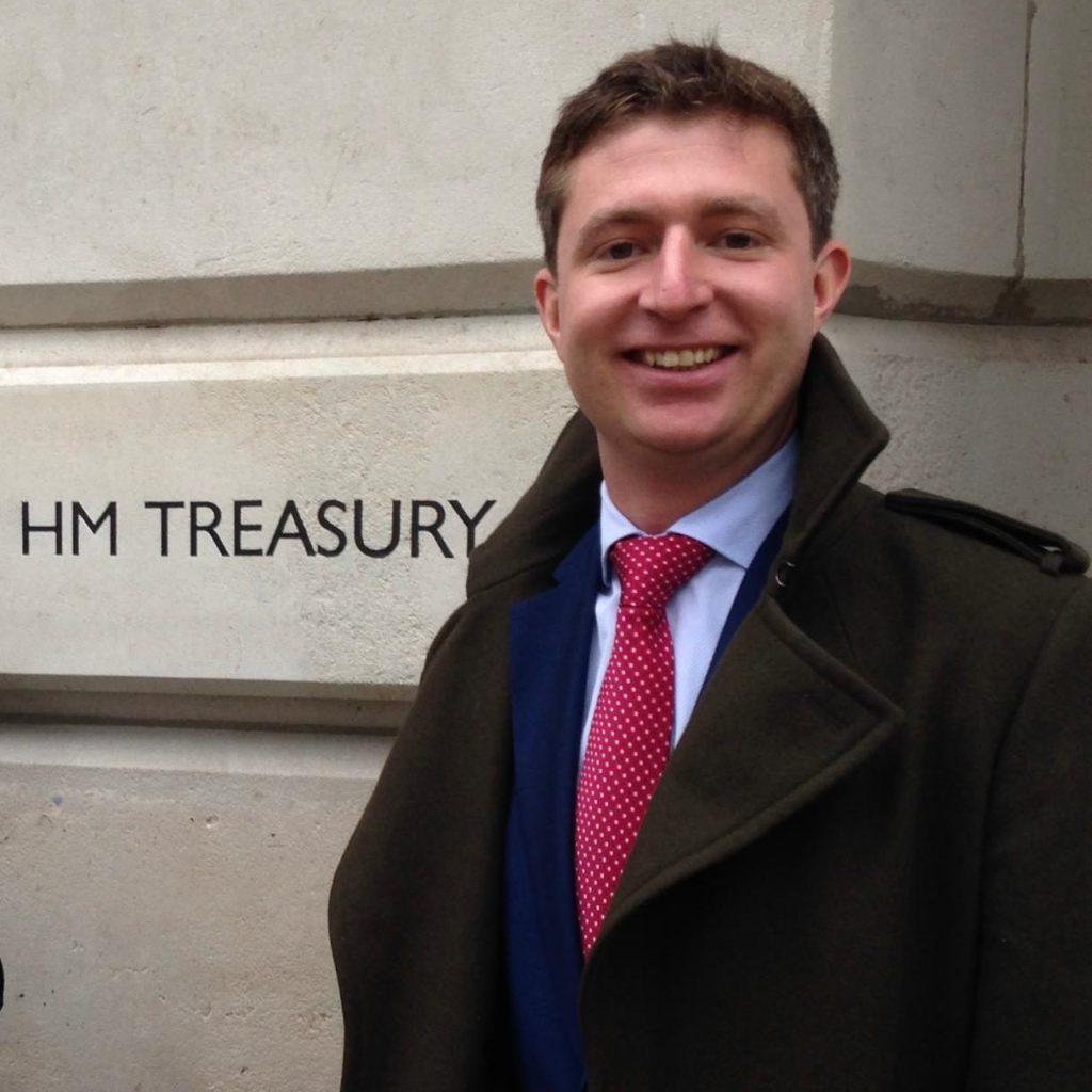 I advised the treasury on accountancy training